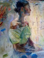 Scientific Tailor 2000 78x73  Huge Original Painting by Charles Dwyer - 3