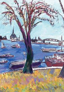 Drawn Blank - Sunday Afternoon   2016  Limited Edition Print - Bob  Dylan