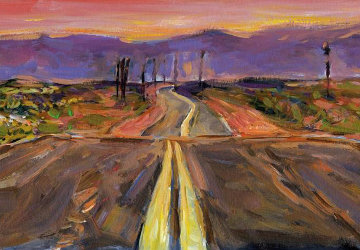 Beaten Path  - Endless Highway (Large)   2016 Limited Edition Print - Bob  Dylan