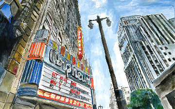 Theatre Downtown 2016 Limited Edition Print - Bob  Dylan