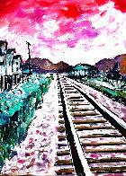 Train Tracks 2018 Portfolio of 4 Limited Edition Print by Bob  Dylan - 0