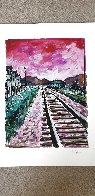 Train Tracks 2018 Portfolio of 4 Limited Edition Print by Bob  Dylan - 1