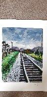 Train Tracks 2018 Portfolio of 4 Limited Edition Print by Bob  Dylan - 6
