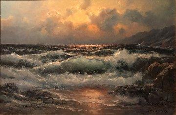 California Shores  35x44 Original Painting - Alex Dzigurski