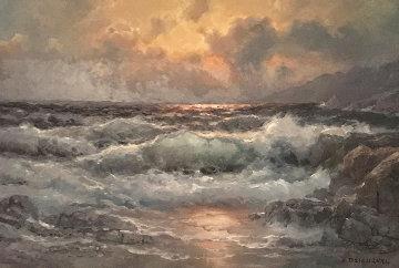 California Shores  35x44 Original Painting by Alex Dzigurski