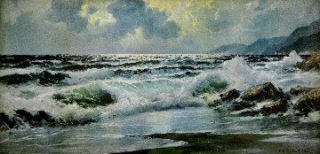 Crashing Waves 1960 29x53 Huge  - Alex Dzigurski