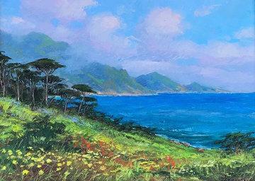 Pt. Lobos Springtime 24x30 Original Painting - Alex Dzigurski II