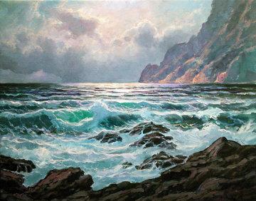 Mistral 2012 24x30 Original Painting - Alex Dzigurski II