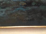Rugged Coast California 44x34  Huge Original Painting by Alex Dzigurski Sr. - 5