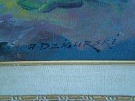 Landscape (Colorado Lowland) 1960 30x54 Super Huge Original Painting by Alex Dzigurski Sr. - 2