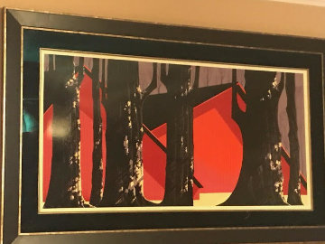 Winter Barn AP Limited Edition Print by Eyvind Earle