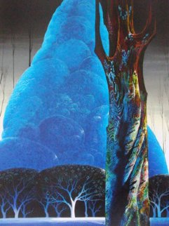 Blue Nocturne 1992 Limited Edition Print by Eyvind Earle