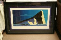 Three Horses 1987 Huge Limited Edition Print by Eyvind Earle - 2