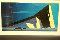 Three Horses 1987 Huge Limited Edition Print by Eyvind Earle - 4