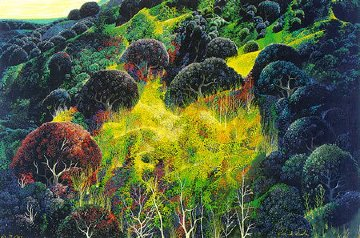 Autumn Fields 1990 Limited Edition Print - Eyvind Earle