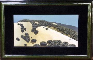 High Noon 1969 27x42 Original Painting - Eyvind Earle