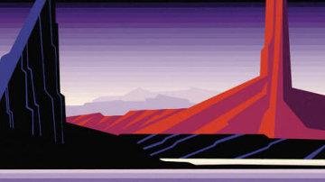 Beneath a Silent Sky 1992 Limited Edition Print by Eyvind Earle
