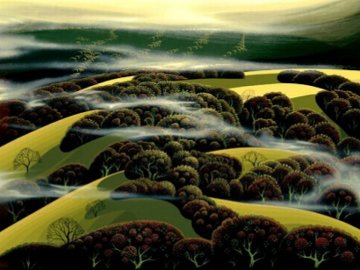 When the Fog Rolls in  Limited Edition Print by Eyvind Earle