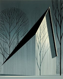 Pearl 1983 Limited Edition Print - Eyvind Earle