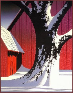 Ruby 1987 16x20 Limited Edition Print - Eyvind Earle