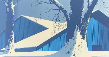 Winter Quiet AP 1980 Limited Edition Print by Eyvind Earle