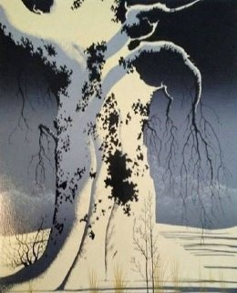 Black Oak 1982 Limited Edition Print by Eyvind Earle