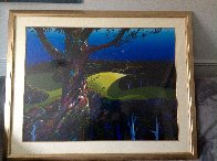 Before the Sun Goes Down 1996 Limited Edition Print by Eyvind Earle - 2