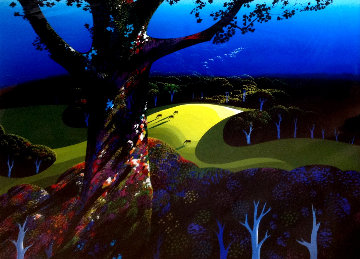Before the Sun Goes Down 1996 Limited Edition Print by Eyvind Earle