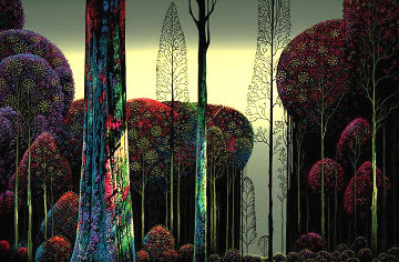 Gothic Forest 1980 Limited Edition Print by Eyvind Earle
