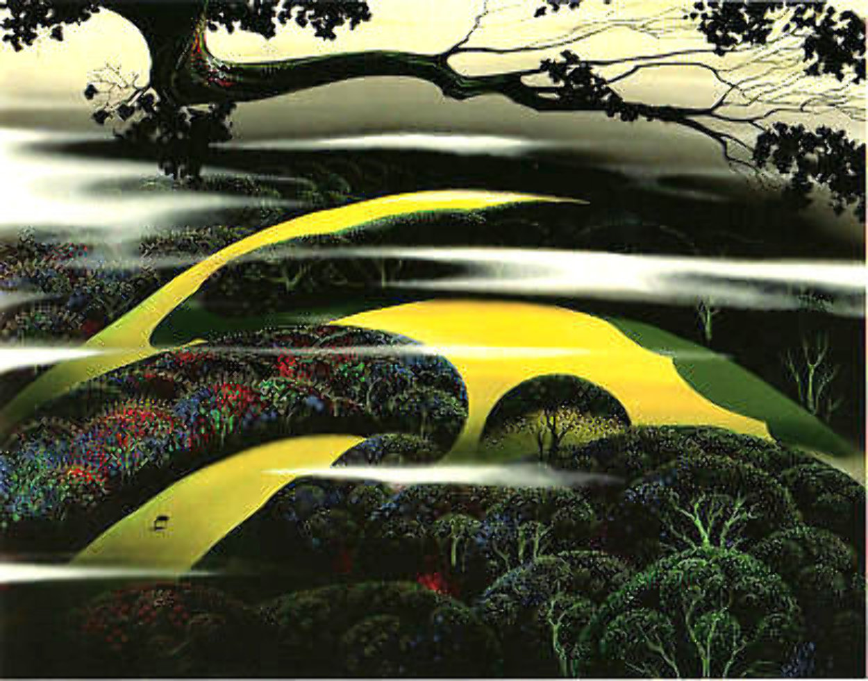 Untitled Landscape  1997 Limited Edition Print by Eyvind Earle