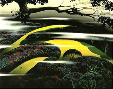 Untitled Landscape  1997 Limited Edition Print - Eyvind Earle