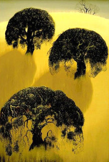 Three Oaks 1975 Limited Edition Print by Eyvind Earle