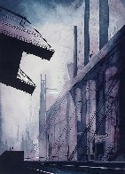 Factory 1986 Limited Edition Print by Eyvind Earle - 0