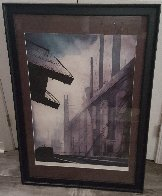 Factory 1986 Limited Edition Print by Eyvind Earle - 1