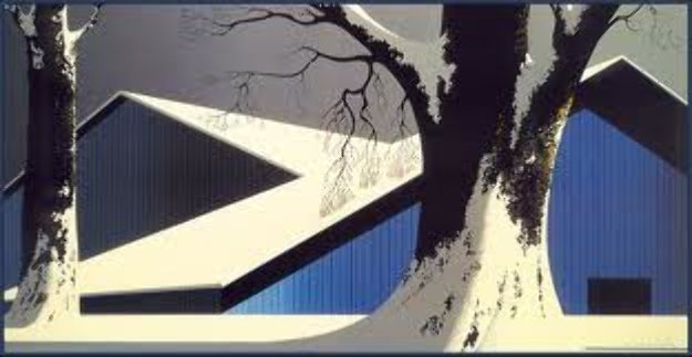 Winter Quiet 1980 Limited Edition Print by Eyvind Earle