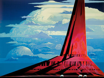 Silent Thunder 1986 Limited Edition Print - Eyvind Earle