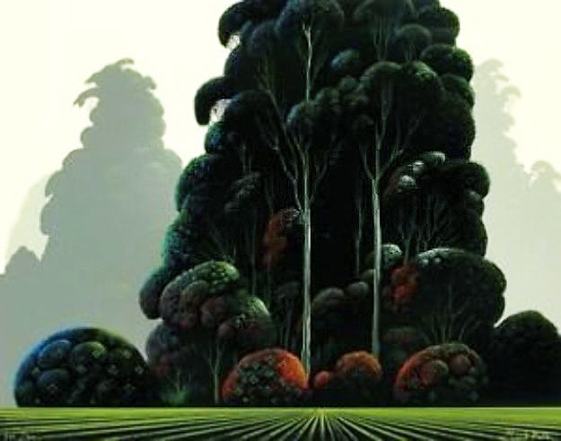 Autumn 1979 Limited Edition Print by Eyvind Earle