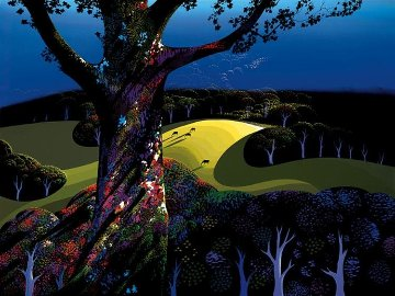 Before the Sun Goes Down PP 1996 Limited Edition Print by Eyvind Earle