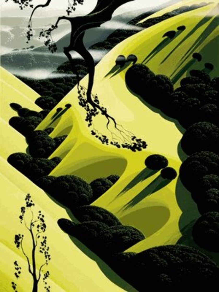 High Country Valley PP 1997 Limited Edition Print by Eyvind Earle