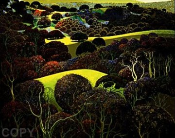 Santa Ynez Memories PP 1997 Limited Edition Print by Eyvind Earle