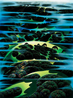 As Far As I Could See PP 1987 Limited Edition Print by Eyvind Earle
