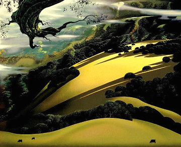 Santa Ynez Memories PP Limited Edition Print - Eyvind Earle