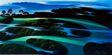 Summer Twilight PP Limited Edition Print - Eyvind Earle