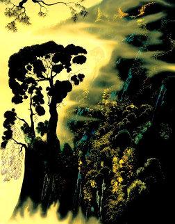 Sunset Solitude PP Limited Edition Print - Eyvind Earle