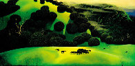 Herd of Horses PP Limited Edition Print by Eyvind Earle - 2