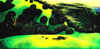 Herd of Horses PP Limited Edition Print by Eyvind Earle - 1