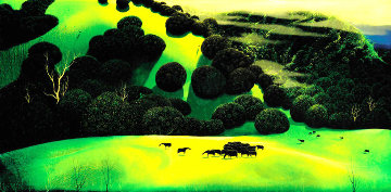 Herd of Horses PP Limited Edition Print - Eyvind Earle