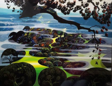 Mystic Mountain 1989 Limited Edition Print - Eyvind Earle
