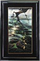 Fog Laced Hills 1995 54x34 Huge Original Painting by Eyvind Earle - 1