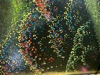 Fog Laced Hills 1995 54x34 Huge Original Painting by Eyvind Earle - 9